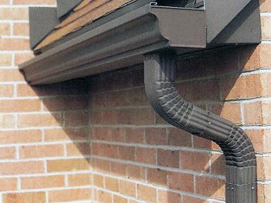 brown gutters