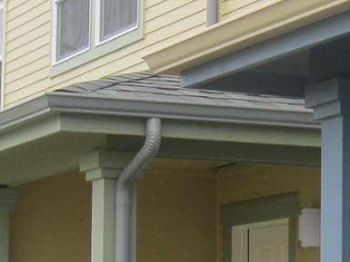 k-style gutters installed by bothell gutter contractors